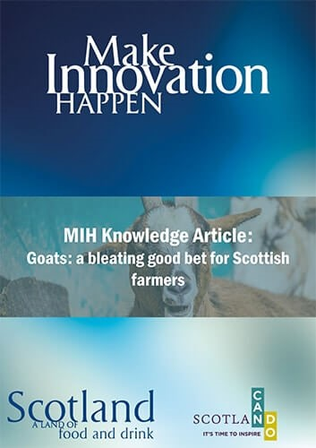 Goats: a bleating good bet for Scottish farmers | Scotland